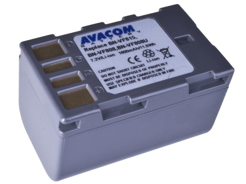AVACOM JVC BN-VF808, VF815, VF823 Li-Ion 7.2V 1600mAh 11.5Wh