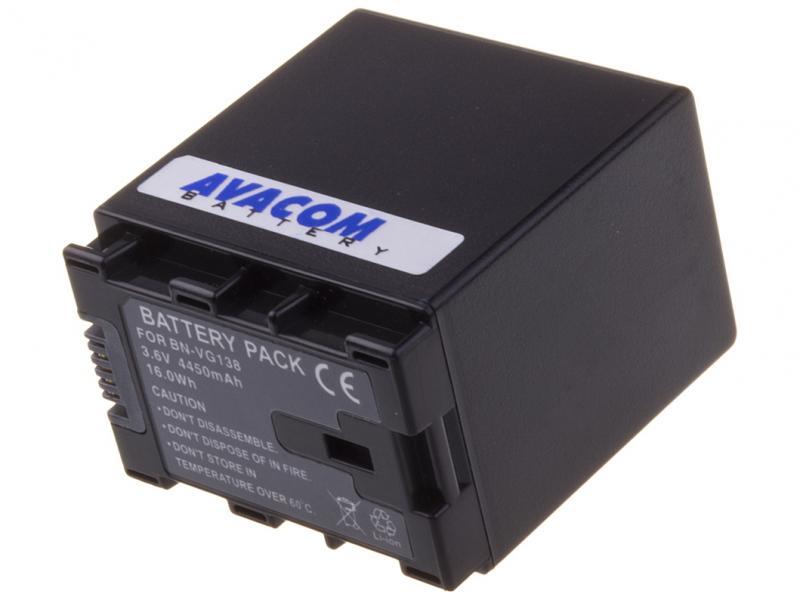 AVACOM JVC BN-VG107, VG114, VG121, VG138 Li-Ion 3.6V 4450mAh 16Wh