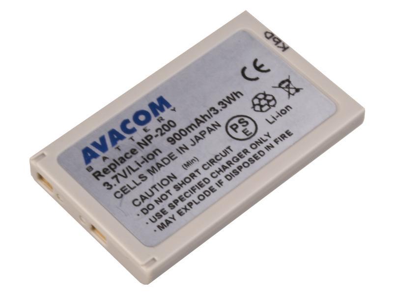 AVACOM Minolta NP-200 Li-Ion 3.7V 900mAh 3.3Wh