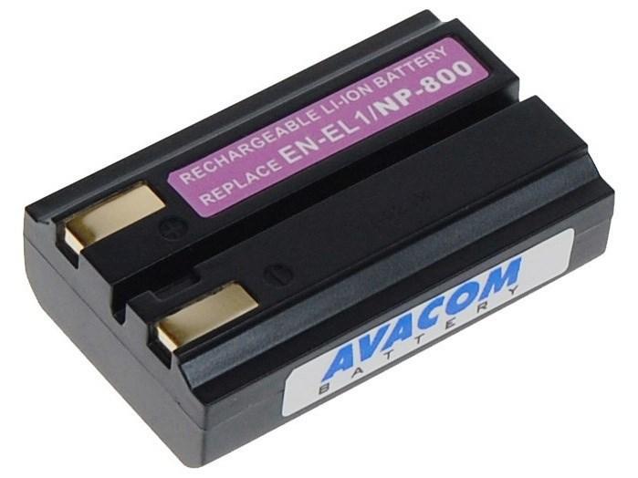 AVACOM Nikon EN-EL1, Konica Minolta NP-800 Li-ion 7.4V 800mAh 5.9Wh verze 2012