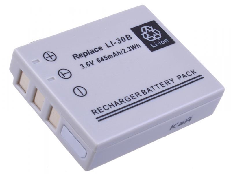 AVACOM Olympus LI-30B Li-ion 3.6V 645mAh 2.3Wh