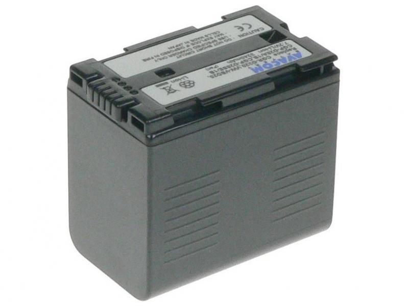 AVACOM Panasonic CGR-D320/D28s, Hitachi DZ-BP28 Li-ion 7.2V 3240mAh 23.3Wh černá