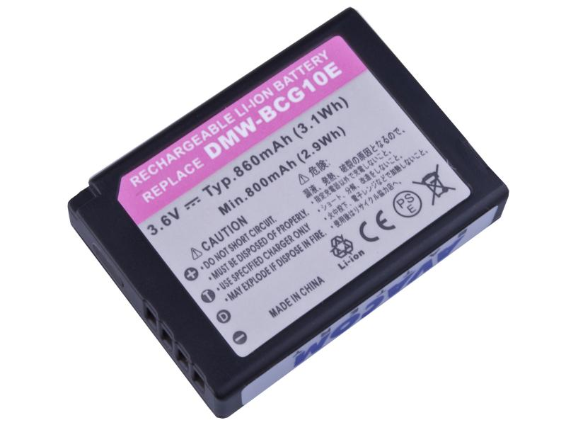 AVACOM Panasonic DMW-BCG10 Li-ion 3.6V 860mAh 3.1Wh