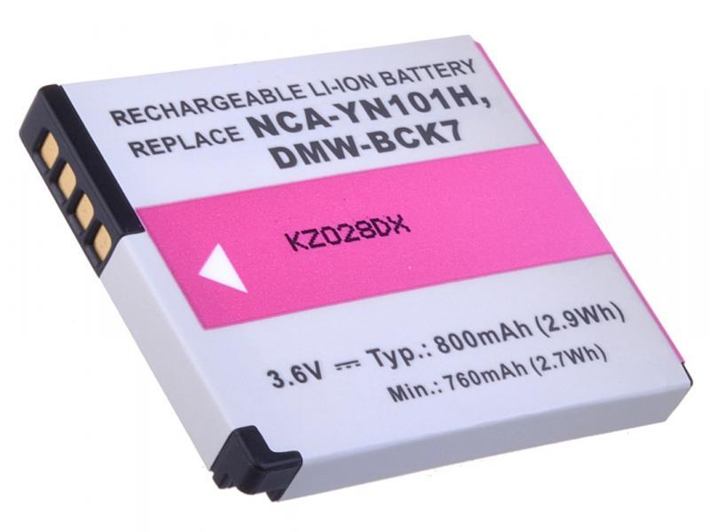 AVACOM Panasonic DMW-BCK7 Li-ion 3.6V 800mAh 2.9Wh