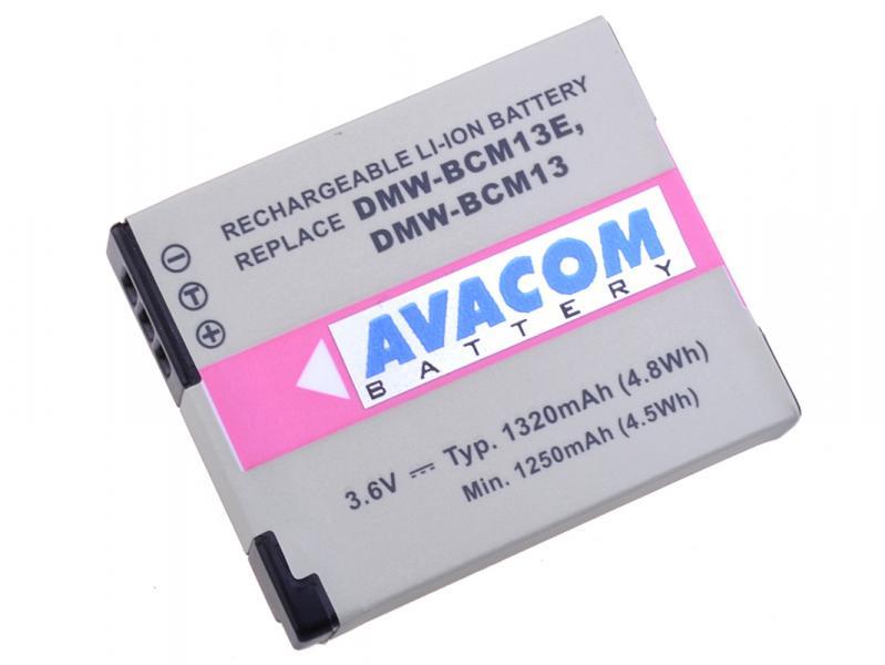 AVACOM Panasonic DMW-BCM13, BCM13E Li-ion 3.6V 1320mAh 4.8Wh