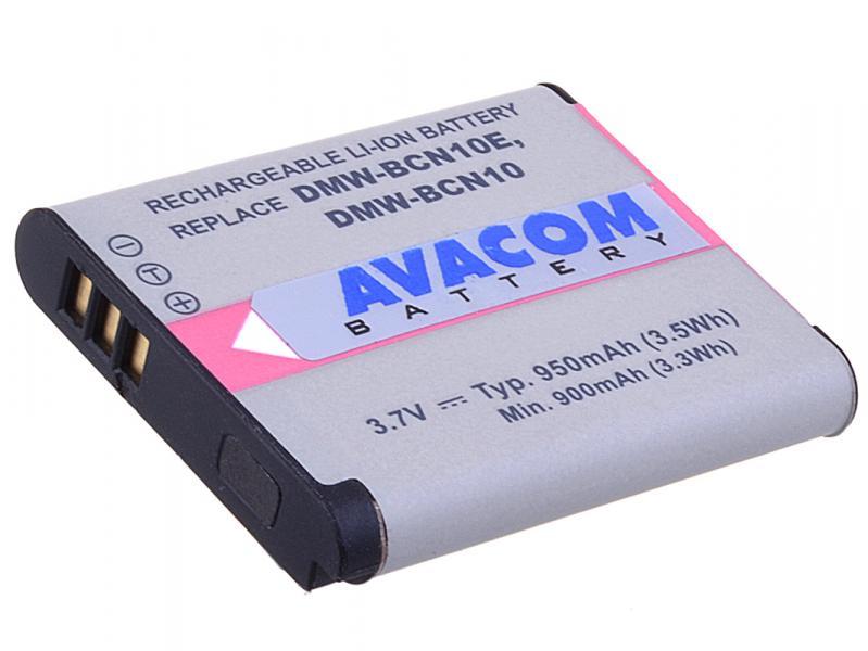 AVACOM Panasonic DMW-BCN10 Li-ion 3.7V 950mAh 3.6Wh