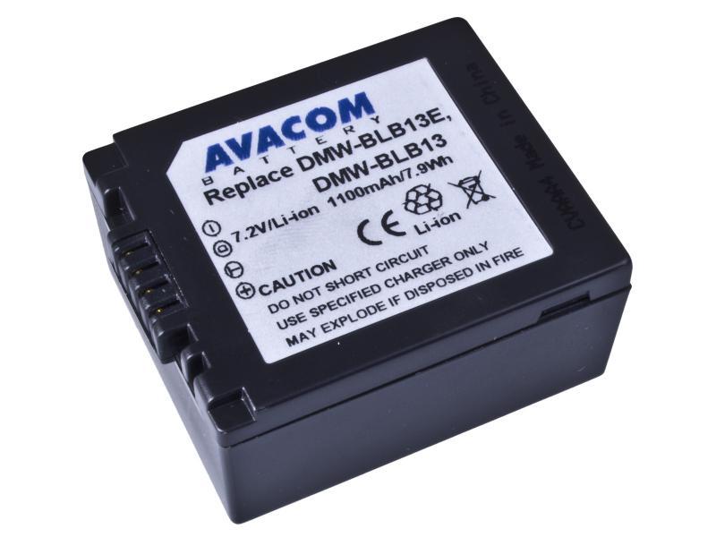 AVACOM Panasonic DMW-BLB13PP Li-ion 7.2V 1100mAh 7,9Wh verze NEW 2010