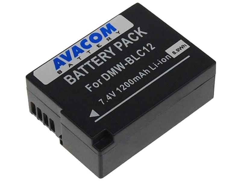 AVACOM Panasonic DMW-BLC12 Li-ion 7.4V 1200mAh 8.9Wh
