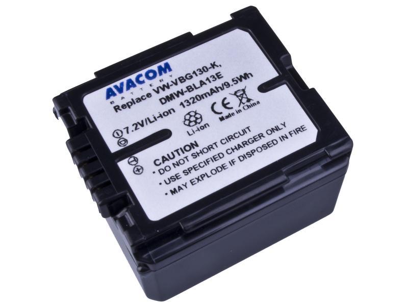 AVACOM Panasonic VW-VBG130, DMW-BLA13 Li-ion 7.2V 1320mAh 9.5Wh