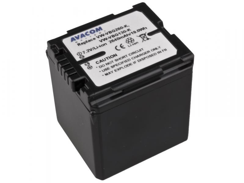 AVACOM Panasonic VW-VBG260 Li-ion 7.2V 2640mAh 19Wh