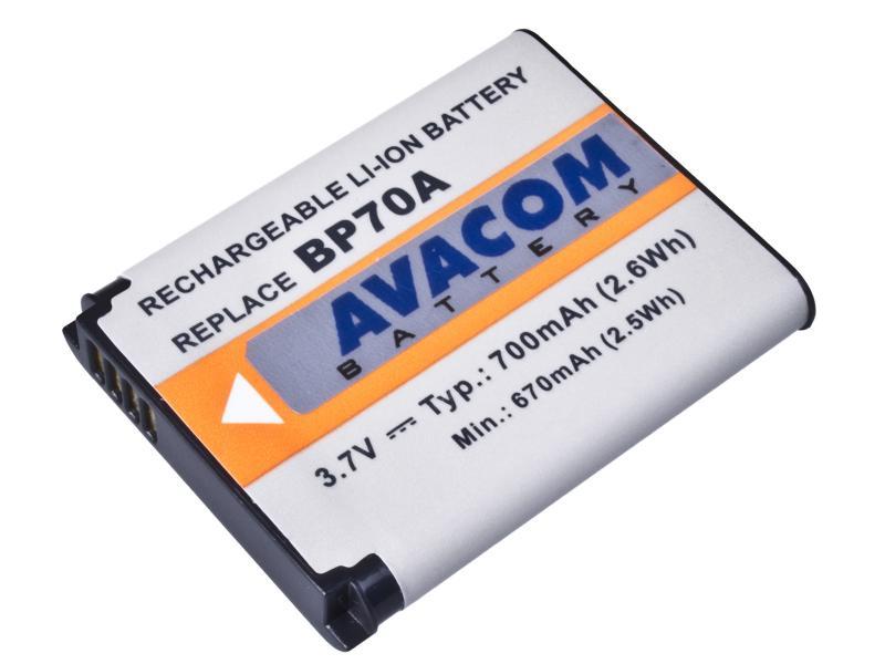 AVACOM Samsung BP-70A Li-ion 3.7V 700mAh 2.6Wh