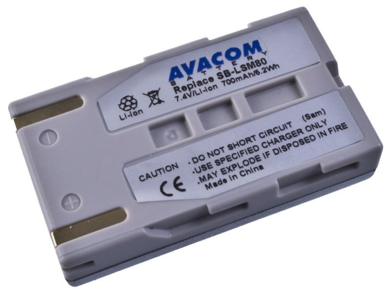 AVACOM Samsung SB-LSM80 Li-ion 7.4V 700mAh 5.1Wh verze 2012