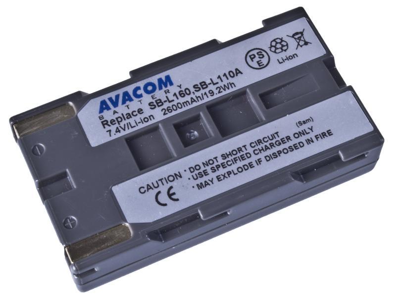 AVACOM Samsung SB-L160 Li-ion 7.4V 2600mAh 19.2Wh