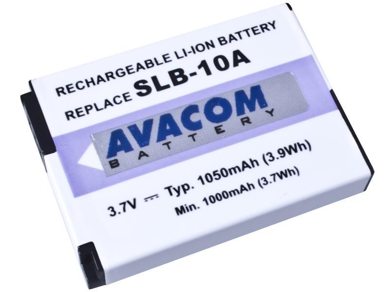 AVACOM Samsung SLB-10A Li-ion 3.7V 1050mAh 3.8Wh verze 2012