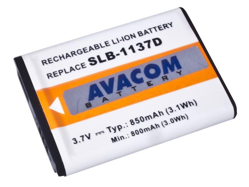 AVACOM Samsung SLB-1137D Li-ion 3.7V 850mAh 3.1Wh verze 2015
