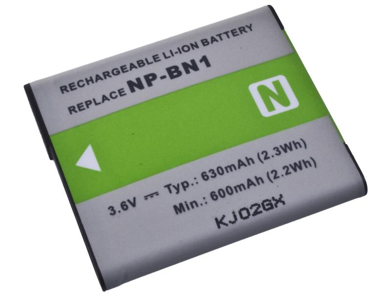 AVACOM Sony NP-BN1 Li-ion 3.6V 630mAh 2.3Wh (zelený index)