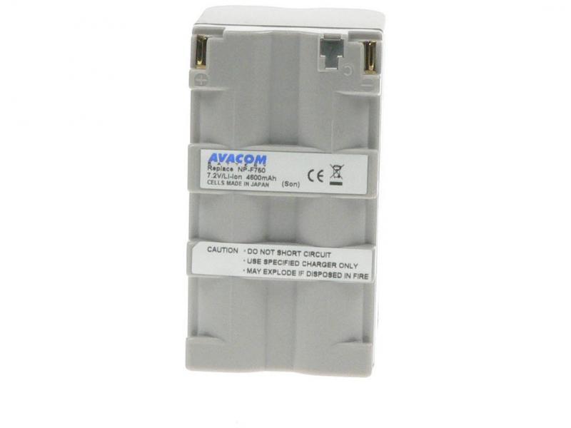 AVACOM Sony NP-F750 Li-ion 7.2V 4600mAh 33.1Wh