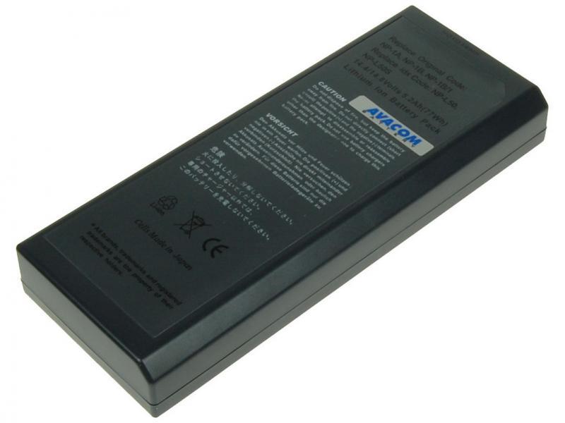AVACOM Sony NP-L50, NP-L50S, NP-25N Li-ion 14.4V 5200mAh 75Wh