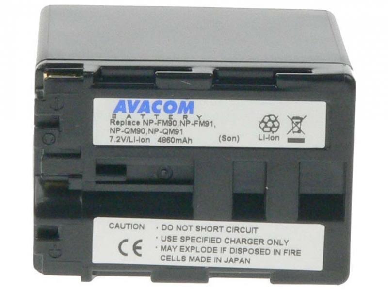AVACOM Sony NP-QM90, QM91 Li-ion 7.2V 4860mAh 35Wh