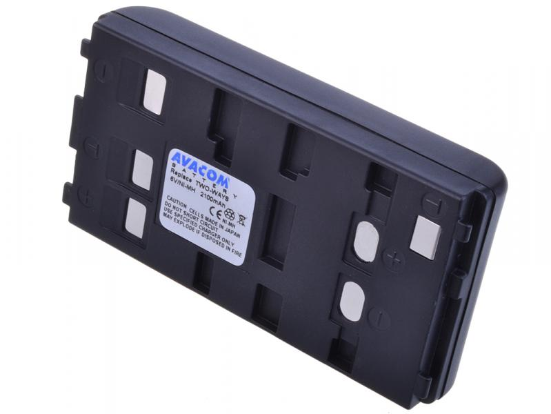 AVACOM Two Ways Ni-MH 6V 2000mAh 12.6Wh univerzální pro starší typy kamer