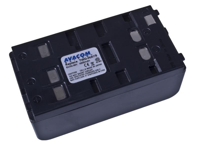 AVACOM Two Ways Ni-MH 6V 4200mAh 25.2Wh univerzální pro starší typy kamer