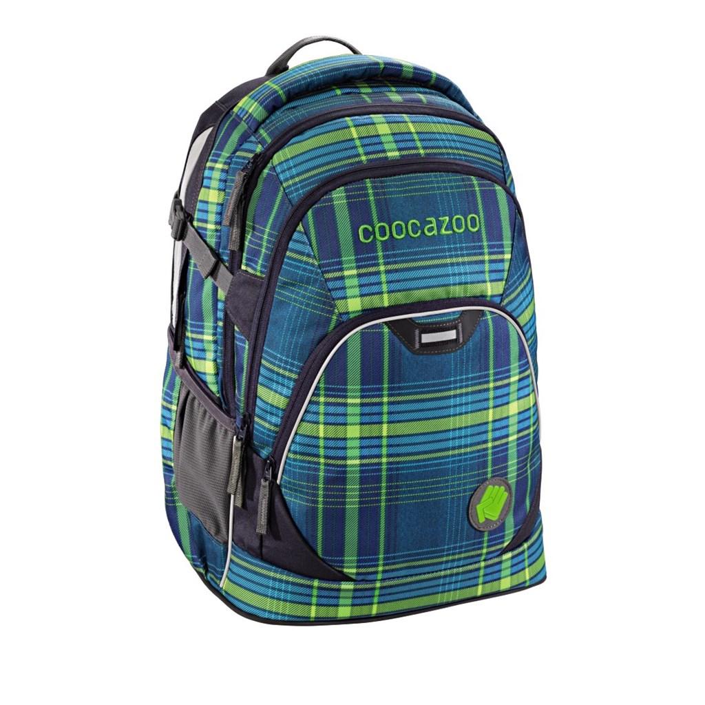 Školní batoh Coocazoo EvverClevver2, Walk The Line Lime