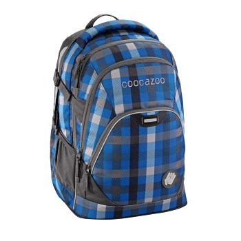 Školní batoh Coocazoo EvverClevver2, Hip To Be Square Blue