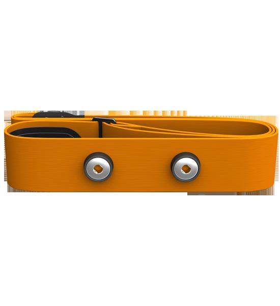 Polar hrudní popruh M - XXL Soft oranžový s elektrodami k vysílačům typu WearLink