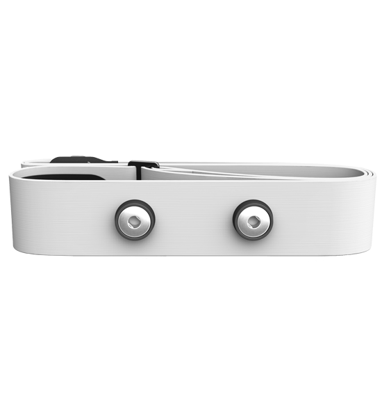 Polar hrudní popruh M - XXL Soft bílý s elektrodami k vysílačům typu WearLink