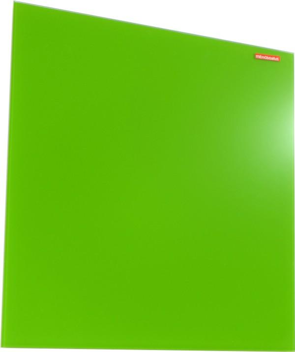 Skleněná magnetická tabule zelená 45x45cm