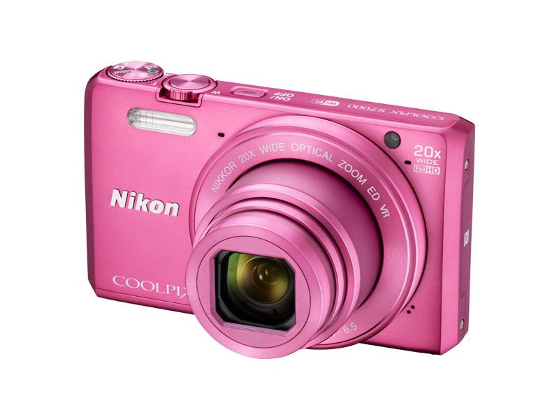 NIKON COOLPIX S7000 Pink + pouzdro