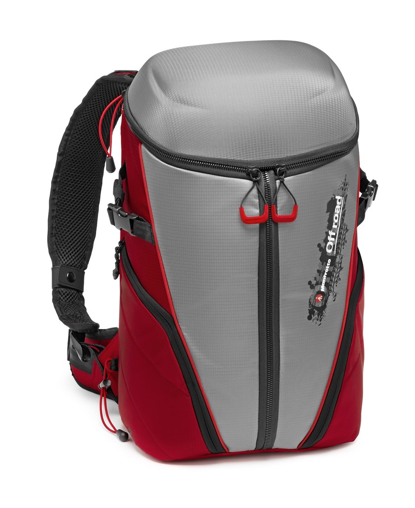 Manfrotto MB OR-ACT-BPGY, Off road Stunt Backpack grey, batoh řady Offroad šedý