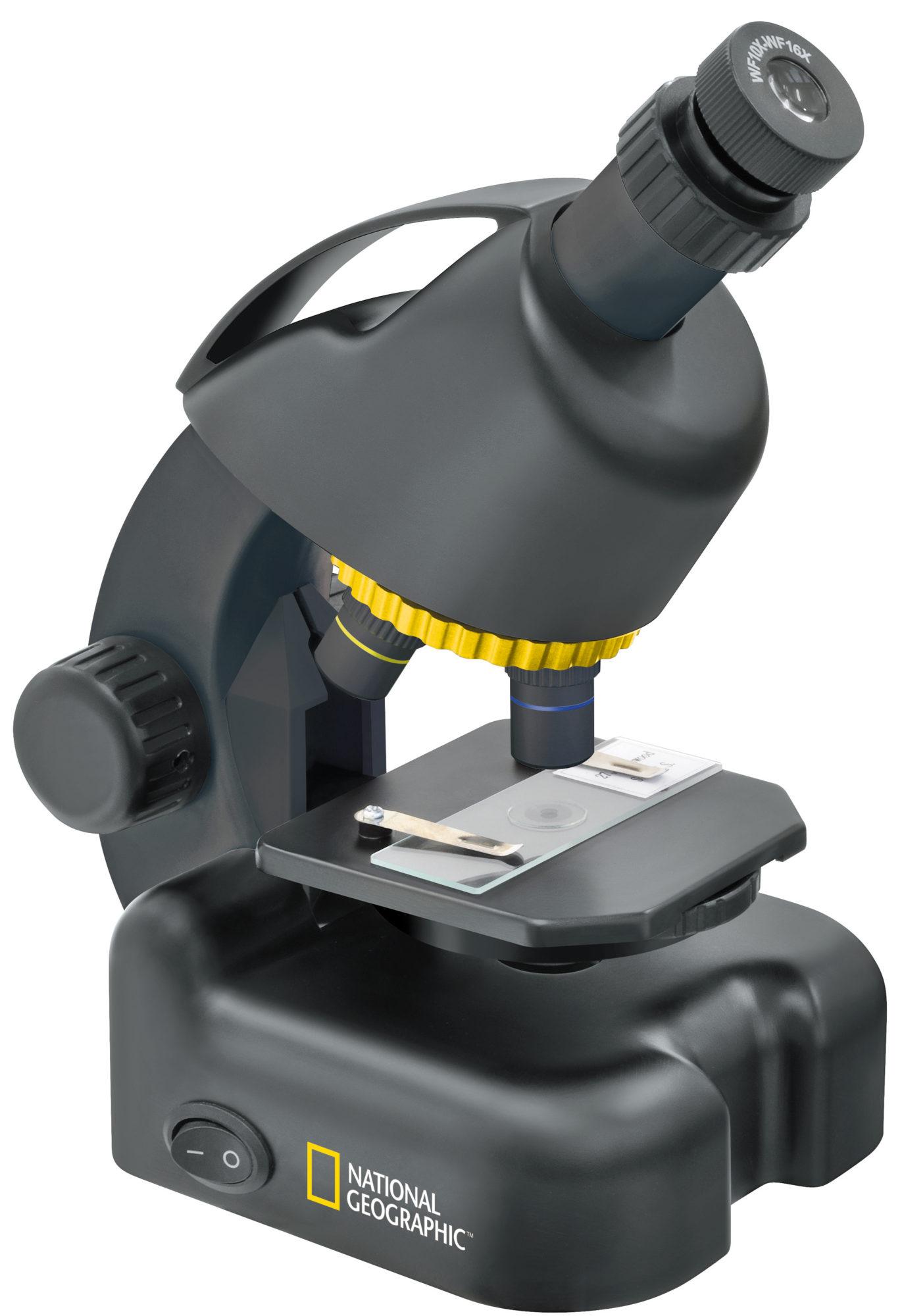 Dětský mikroskop National geographic 40x-640x + Smart plate