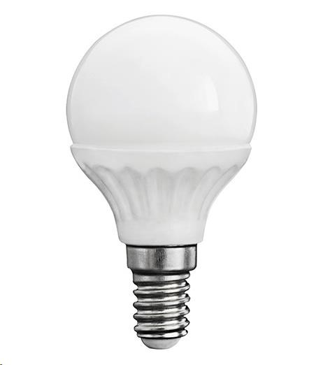KANLUX LED žárovka BILO 5W, 420lm, E14, 3000K (teplá bílá)