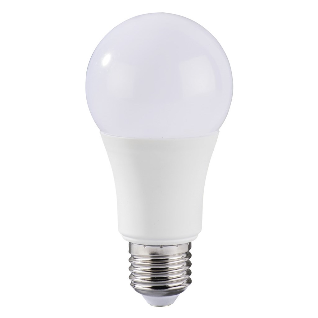 Xavax LED Bulb, 10W, bulb shape, E27, warm white