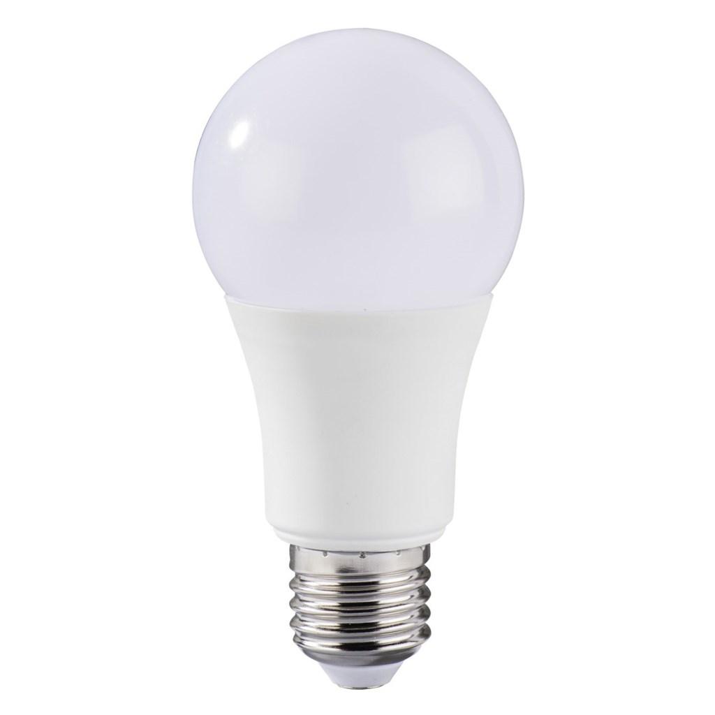 Xavax LED Bulb, 10W, bulb shape, E27, warm white