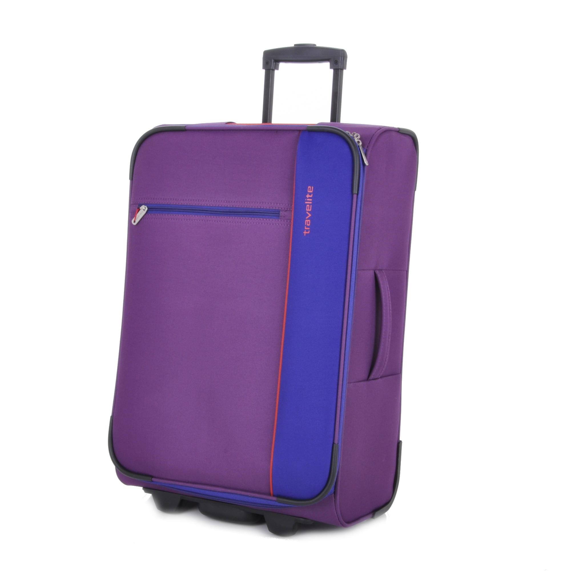 Travelite Portofino 2w L Lilac/blue/red