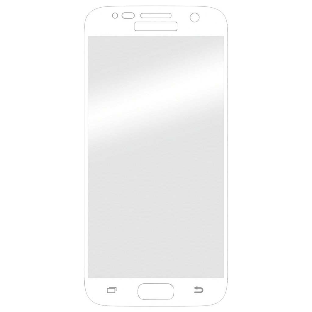Hama 3D Full Screen Glass Protector for Samsung Galaxy S7, white