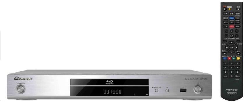 PIONEER BDP-180-S 3D Blu-ray přehrávač - DVD