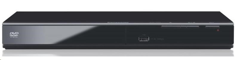 PANASONIC DVD-S500EP-K, USB, USB direct ripping, coaxial digital out, scart