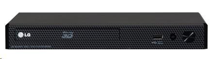LG BP450 3D Blu-ray a DVD přehrávač, USB direct ripping, front USB, LAN, multiroom, coaxial digit
