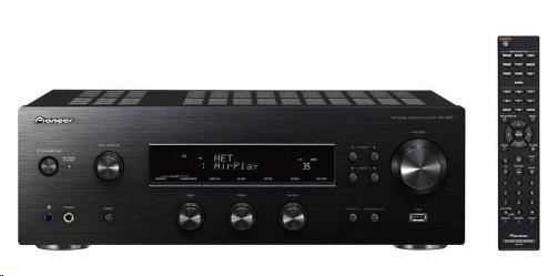PIONEER SX-N30-K Stereofonní integrovaný přijímač, 2x130W, FM RDS/AM tuner, Hi-Res, WiFi a Bluetooth modul