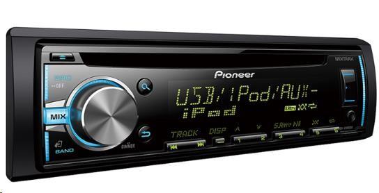 PIONEER DEH-X3800UI Autorádio s CD, AUX, USB, Android fce AOA 2.0, RCA, vstup pro kabelové DO z volantu, výkon 4x50W