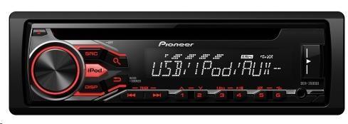 PIONEER DEH-2800UI Autorádio s CD, AUX, USB, Android fce AOA 2.0, RCA , vstup pro kabelové DO z volantu, 4x50W