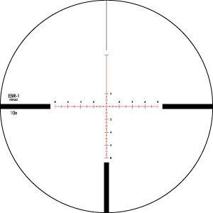 Vortex Viper PST 2.5-10x44 EBR-1 MRAD
