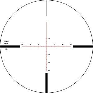 Vortex Viper PST 2.5-10x44 EBR-1 MOA