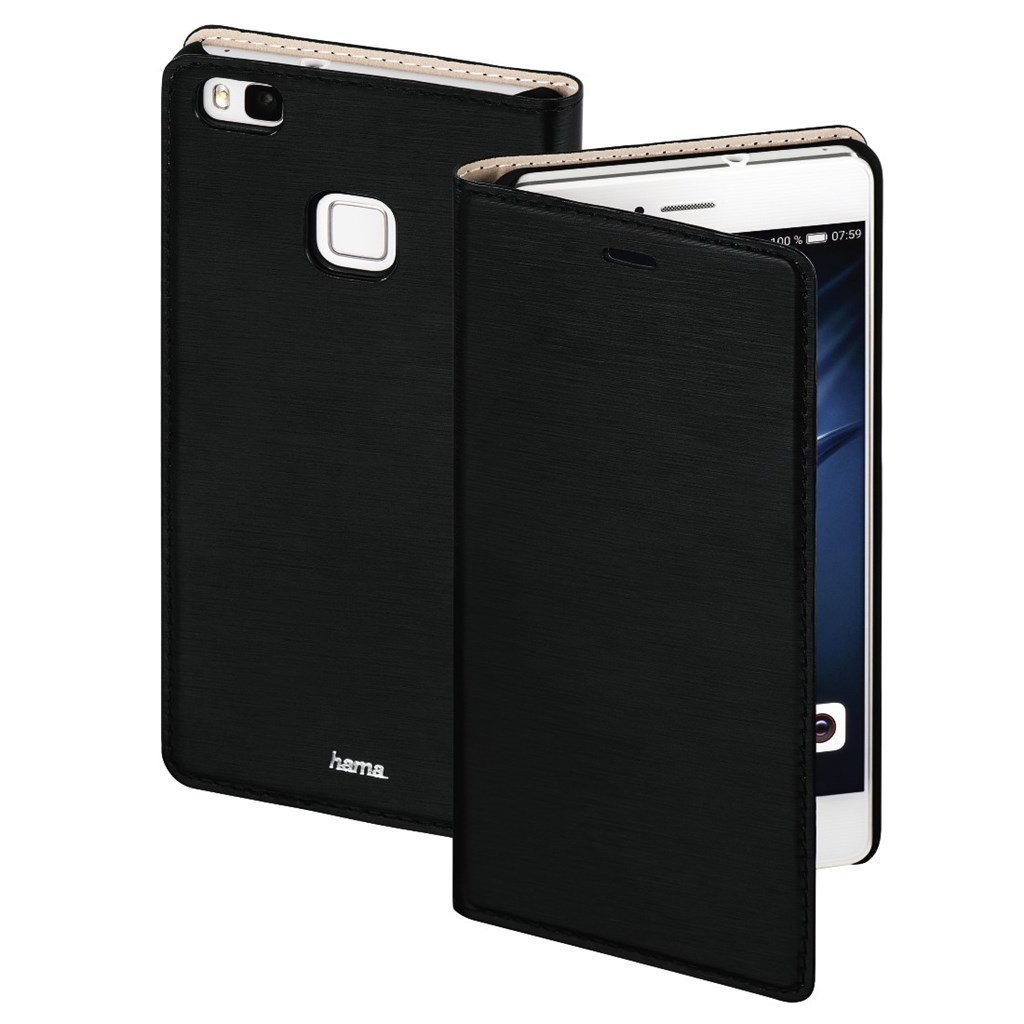 Hama Slim Booklet Case for Huawei P9 Lite, black