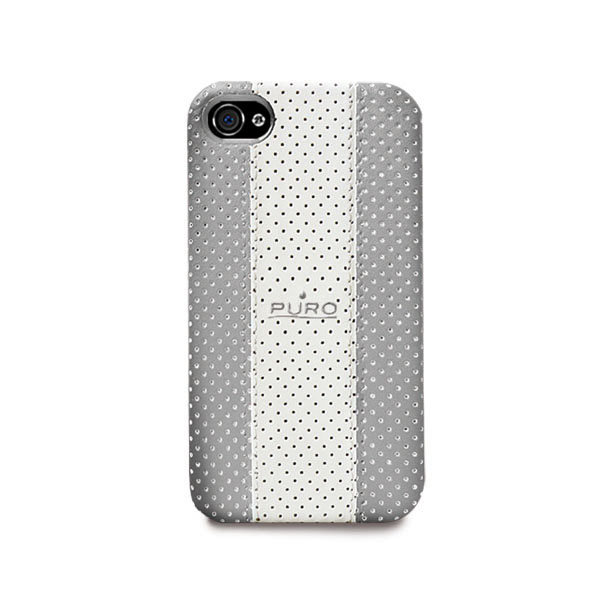 Puro IPHONE 4 GOLF CASE with magnet - grey