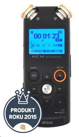 Eltrinex V12Pro digitální záznamník