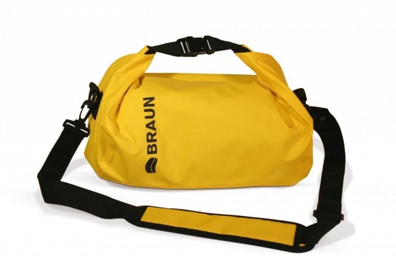 Braun vodotěsný vak Splash, žlutý
